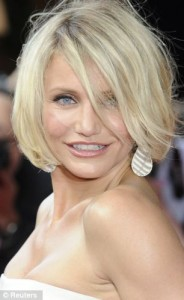 Cameron Diaz suffers from<br/> bouts of adult acne